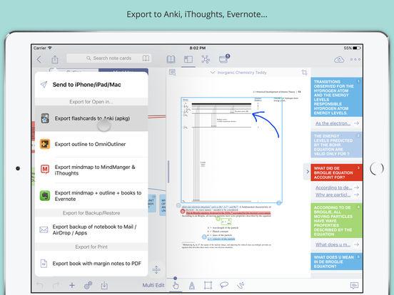 MarginNote Pro - Efficient study PDF & EPUB books Screenshots