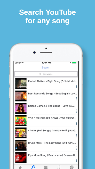 Go Musi -  Music Mp3 Player & Audio Songs Streamer Screenshots