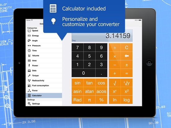 iConvert - Unit and Currency Converter Screenshots