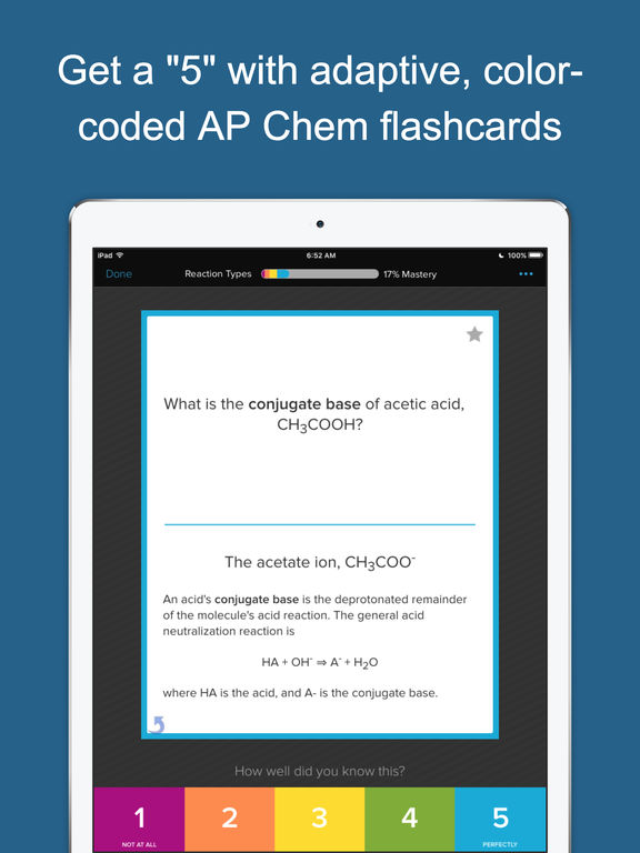 AP Chemistry Preparation, powered by Brainscape Screenshots
