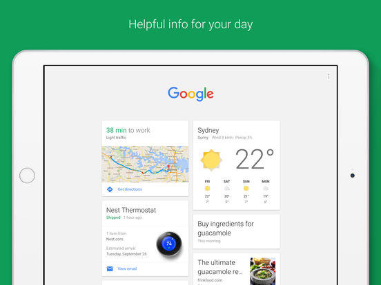 Google app — Search made just for mobile Screenshots