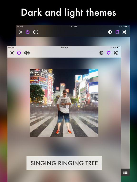 Harken Music Player for iPad, iPhone and iPod Screenshots