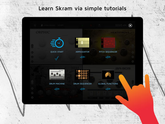 Skram - Electronic Music Maker Screenshots