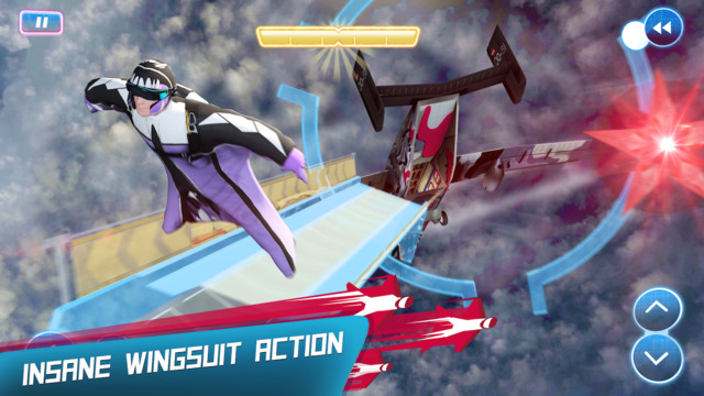 Red Bull Wingsuit Aces iOS Game