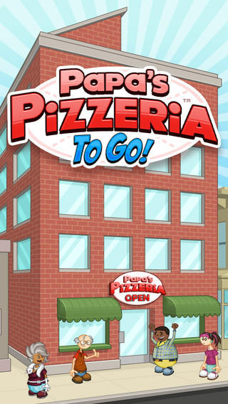 Papa s pizzeria to go on the app store