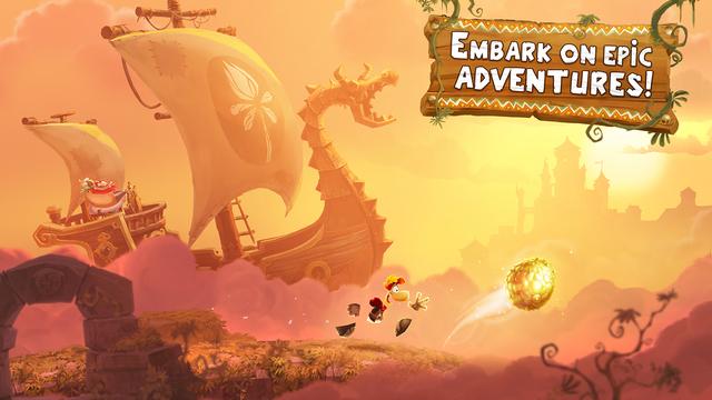 Rayman Adventures iOS Spiel