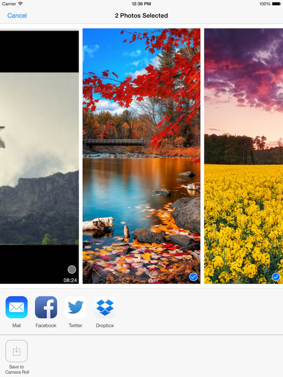 Video Zoom (30X zoom) Screenshots