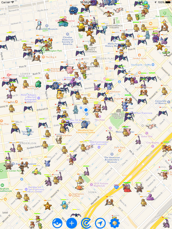 Pokemon GO Map Radar - Find live realtime pokemons Screenshots
