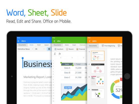 Polaris Office + PDF Screenshots