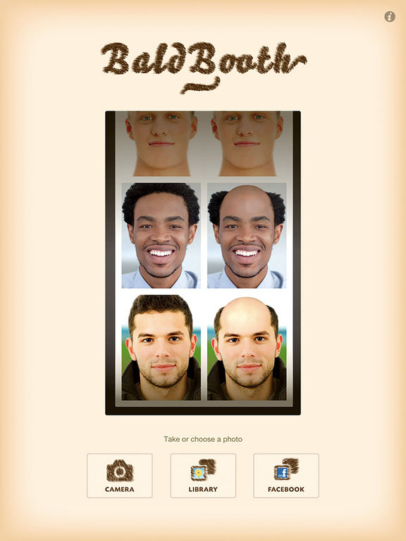 BaldBooth Screenshots