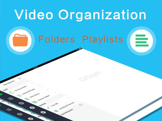 OPlayer HD - video player, classic media streaming Screenshots
