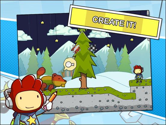 Scribblenauts Remix Screenshots