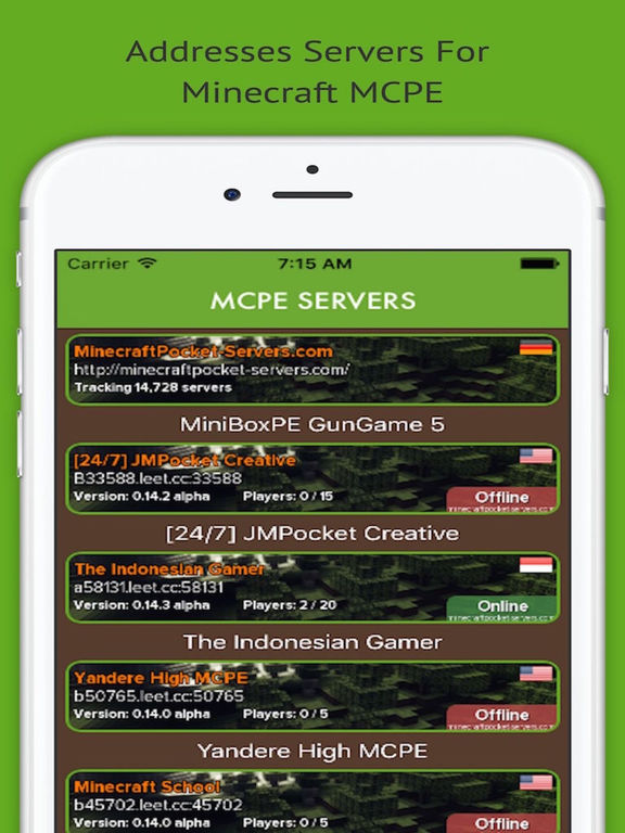 Blockman Multiplayer Servers for Minecraft PE Screenshots