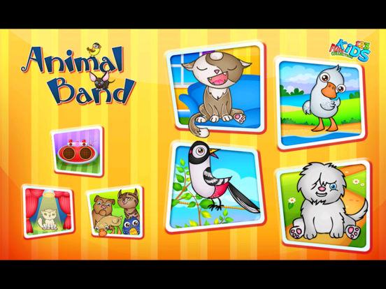 123 Kids Fun ANIMALS BAND - Educational Music Game Screenshots