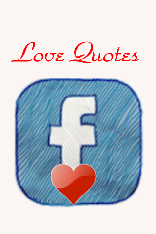 Quotes(Love) for Facebook(FREE) free app screenshot 1