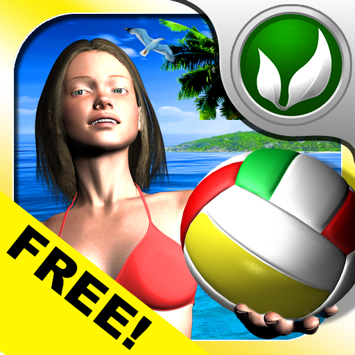free iOverTheNet Beach Volley Lite iphone app