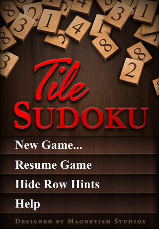 Tile Sudoku