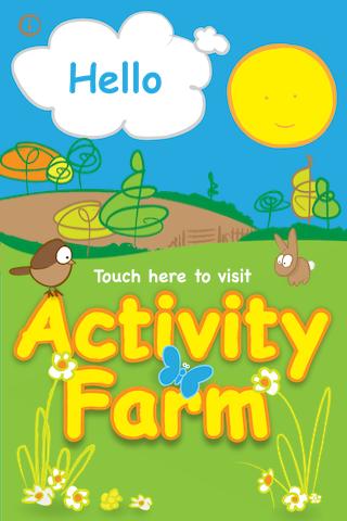 Toddler Activity Farm Lite free app screenshot 1