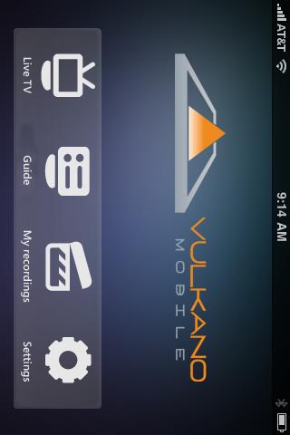 Vulkano Player free app screenshot 1