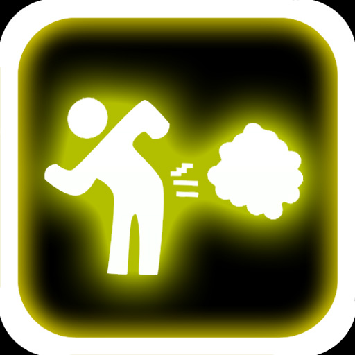 free Glow Fart Button iphone app