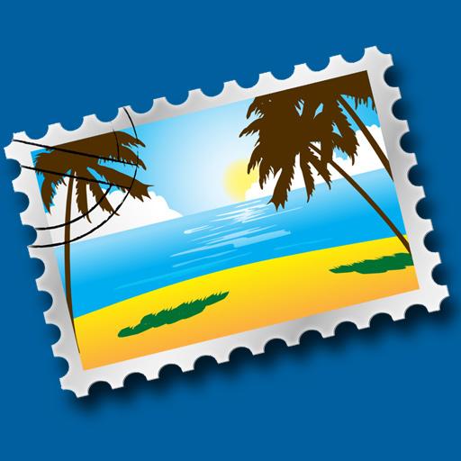 free iHagaki Postcards iphone app
