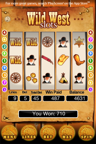 Kenny Rogers - Wild West Slots