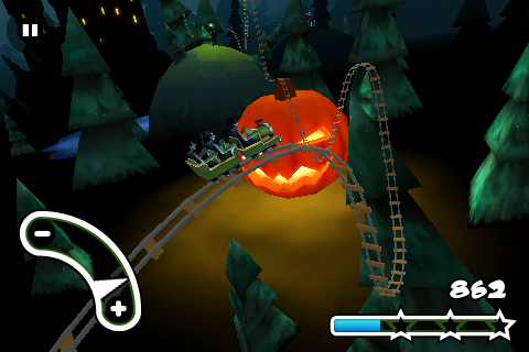 Haunted 3D Rollercoaster Rush FREE