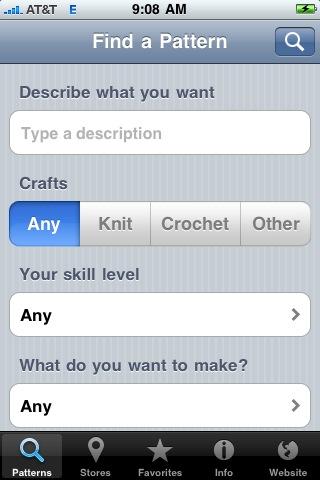 Lion Brand Yarn free app screenshot 1