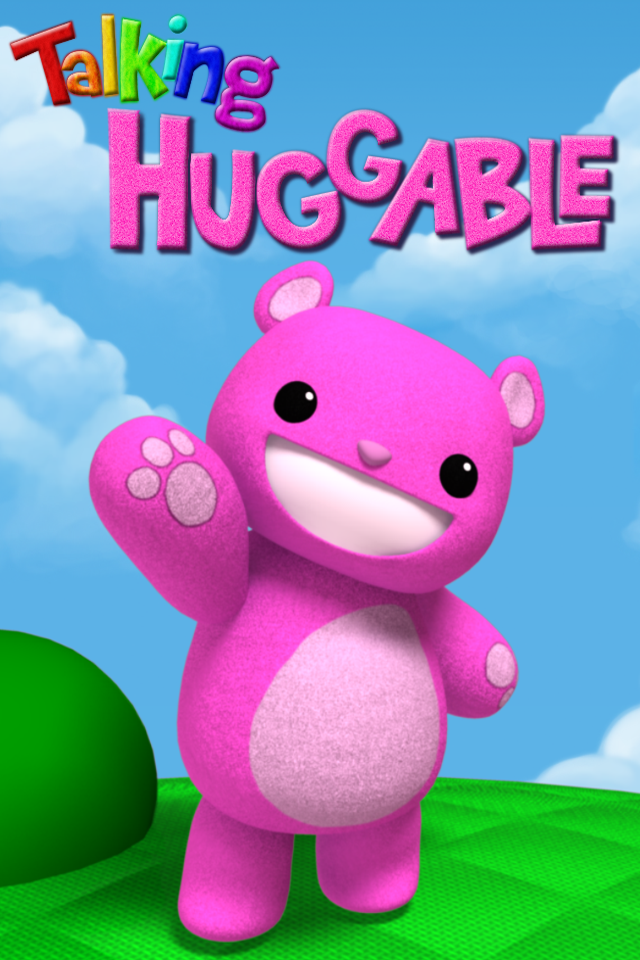 Talking HUGGABLE free app screenshot 1