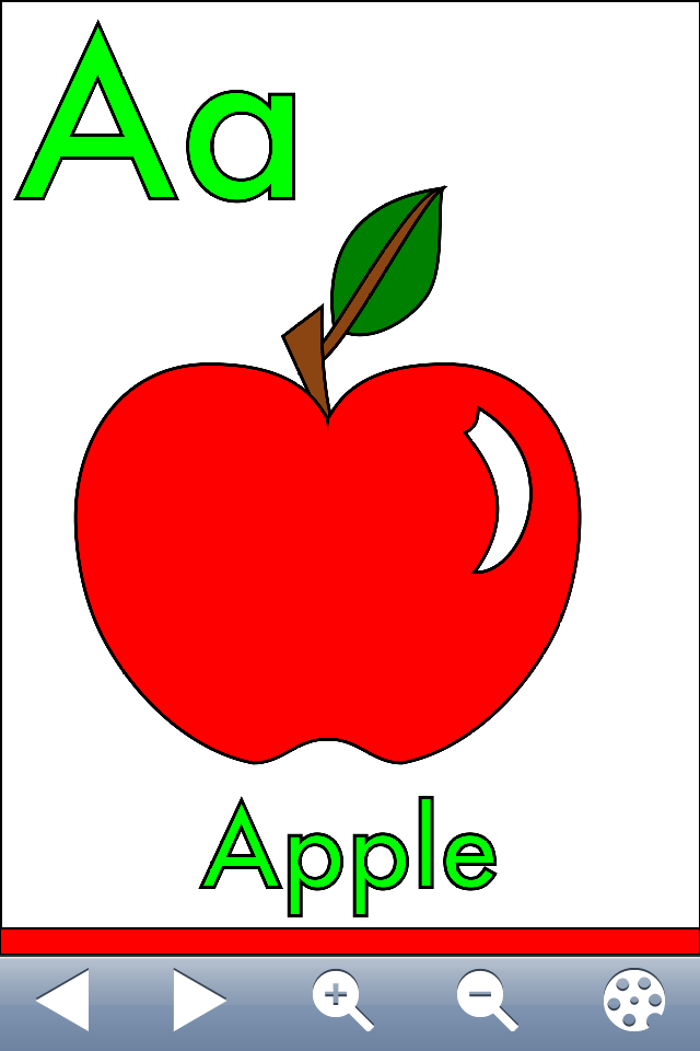 My Alphabet Coloring Book App For Free Iphone Ipad Ipod Touch