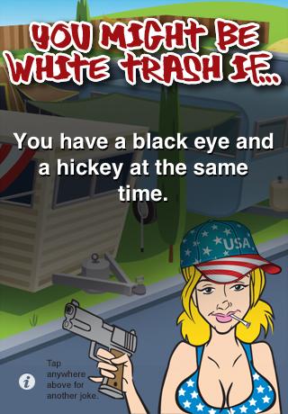 Funny White Trash