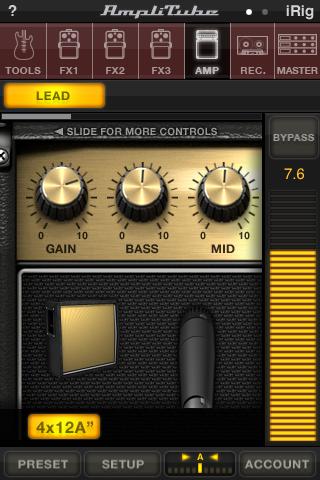 AmpliTube FREE free app screenshot 1