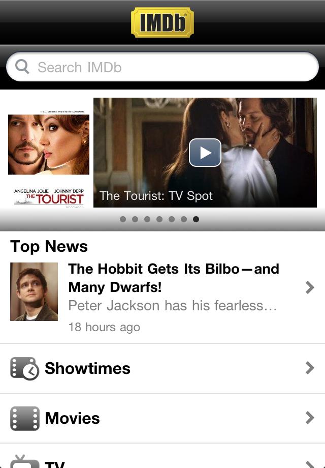 IMDb Movies & TV free app screenshot 1