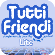 Tutti Friendi Lite: Doodle match your Facebook friends :) icon