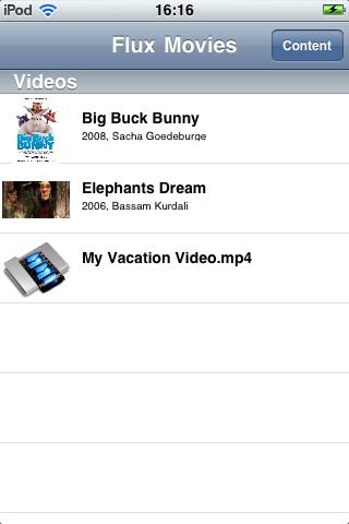 Flux Movies free app screenshot 1