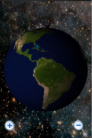 3D Globe Screenshot