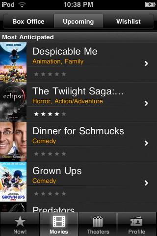 Movies Now HD free app screenshot 1
