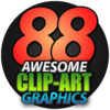 免版税图像 88 Awesome Clipart Graphics   for Mac