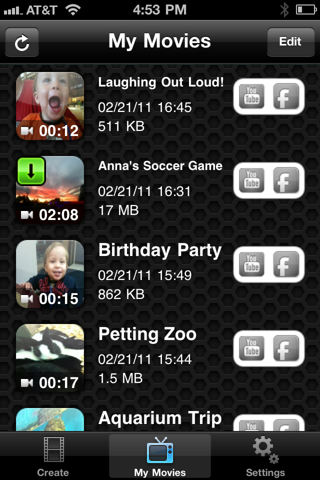 HighlightCam free app screenshot 1