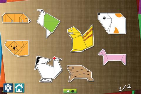 Origami I free app screenshot 1