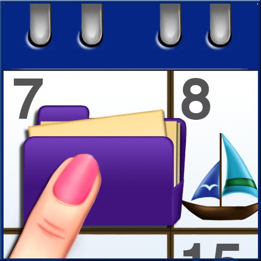 ドラッグカレンダー (iPhoneカレンダーと自動同期)-DragCal