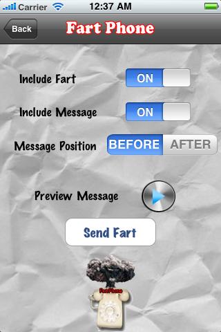 Fart a Phone Free free app screenshot 1