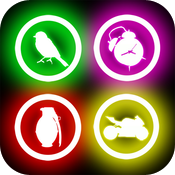 Glow Sound Buttons FREE icon