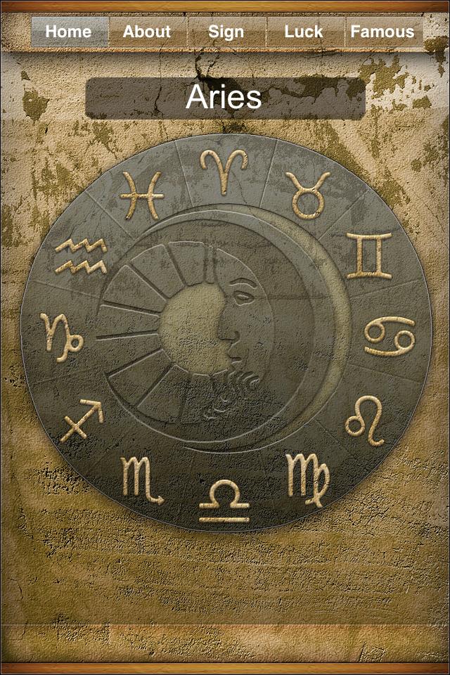 Astrology LITE - Daily Horoscopes free app screenshot 1