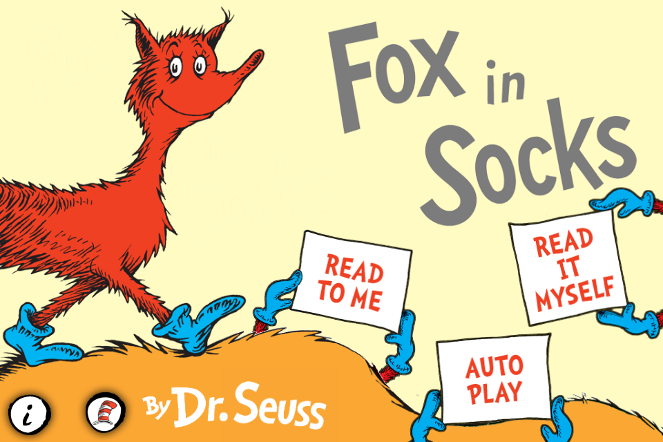 Ds Iphone Synopsis For Fox In Socks Dr Seuss Dr Seuss Fox In Sox Coloring Pages
