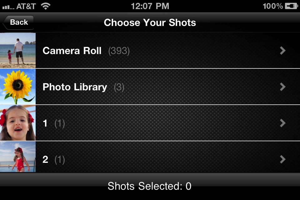 Videolicious free app screenshot 1