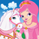 Princess Pony - Matching Memory Cards Game For Kids