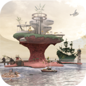 Gorillaz - Escape to Plastic Beach for iPad icon