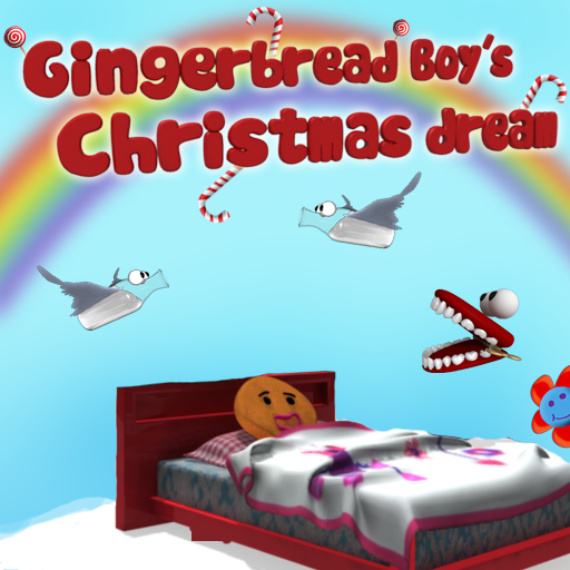 free Gingerbread boy's Christmas dream LITE iphone app