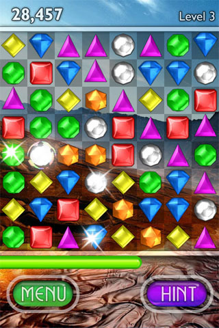 Bejeweled 2 + Blitz Screenshot